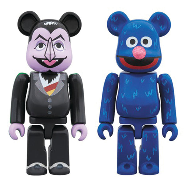 be @ rbrick medicom count von grover 2 pack de deux 100% off the hook oth jouet d'art streetwear montréal canada boutique bearbrick
