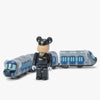 Bearbrick Train X Hanshin Jet Silver 5700 - Front2 - Off The Hook Montreal