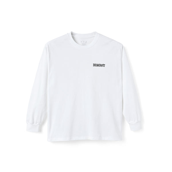 T-Shirt Big Boy L / S Blanc