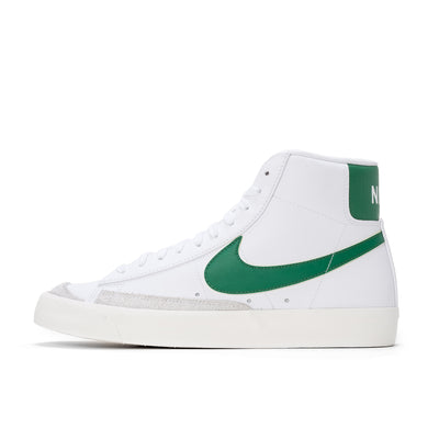 Nike Blazer Mid '77 Vintage - White / Pine Green - Side - Off The Hook Montreal