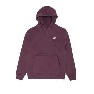 Nike NSWC Fleece Hoodie - Mahogany - Front - Off The Hook Montreal #color_mahogany