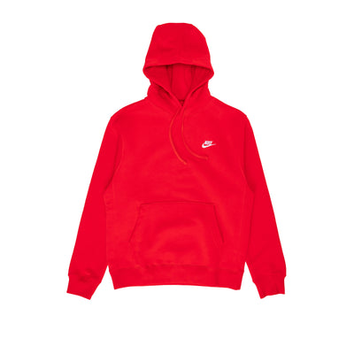 Nike NSWC Fleece Hoodie - Red - Front - Off The Hook Montreal #color_red