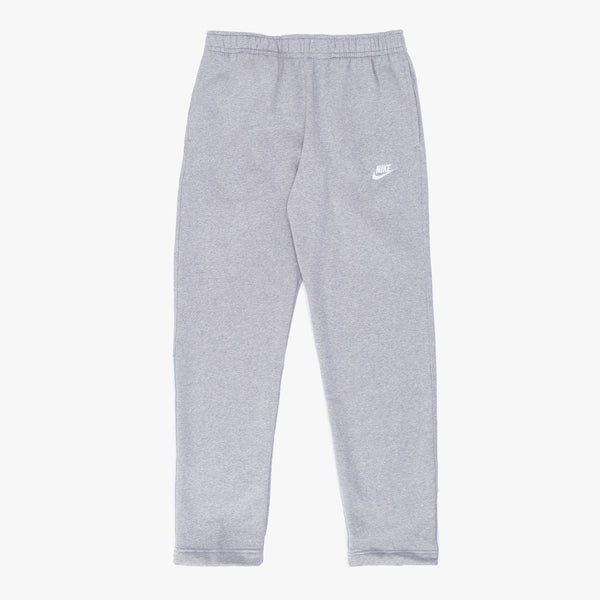 Nike Sportswear Club Fleece Sweatpants - Grey Heather / Silver -  Front - Off The Hook Montreal