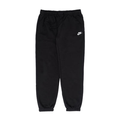 Nike W Sportswear Essential Fleece Sweatpants - Black / White - Front - Off The Hook Montreal #color_black-white