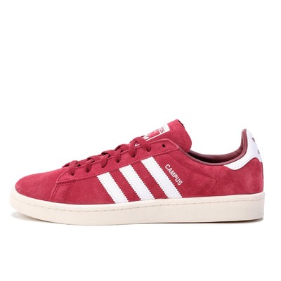 Adidas Campus - Burgundy / White - Side  - Off The Hook Montreal