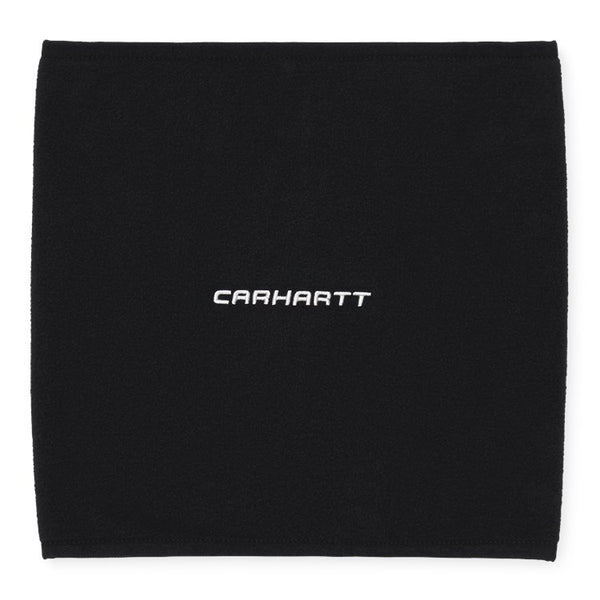 Carhartt WIP Beaumont Neckwarmer - Black / Wax - Front - Off The Hook Montreal