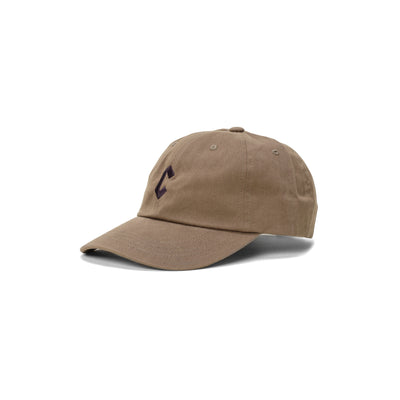 Chrystie C Logo Dat Hat  - Military Green - Front - Off The Hook Montreal #color_military-green