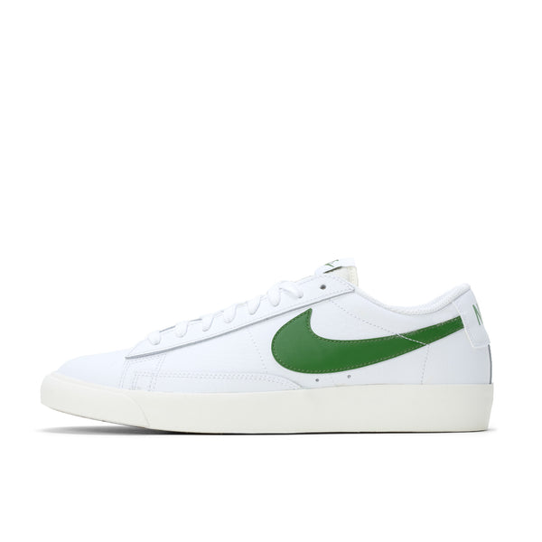 Nike CI6377-108 Blazer Low Leather White/Green - side - available at off the hook montreal