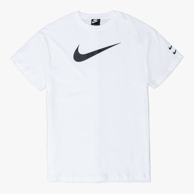 Nike Sportswear Swoosh Dress - White / Black - Front - Off The Hook Montreal