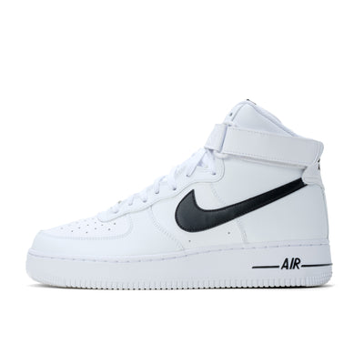 Nike Air Force 1 High - White / Black - Side - Off The Hook Montreal