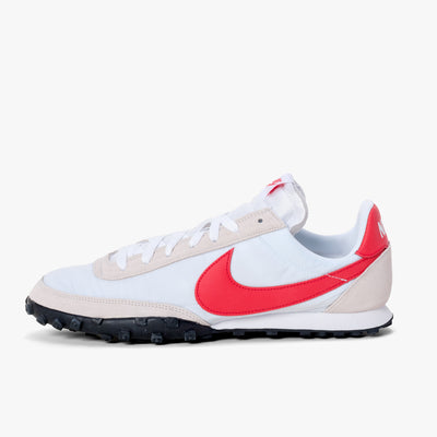 Nike Waffle Racer - White / Red - Side - Off The Hook Montreal