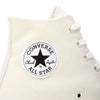 The Chuck 70 is a re-crafted sneaker that uses modern details to celebrate the original Chuck Taylor All Star from the 1970's. It features a higher rubber foxing, a cushioned footbed that provides long-lasting comfort and a more substantial rubber toe cap.   Product code 162053C parchment converse oth off the hook streetwear sneakers shoes boutique canada montreal