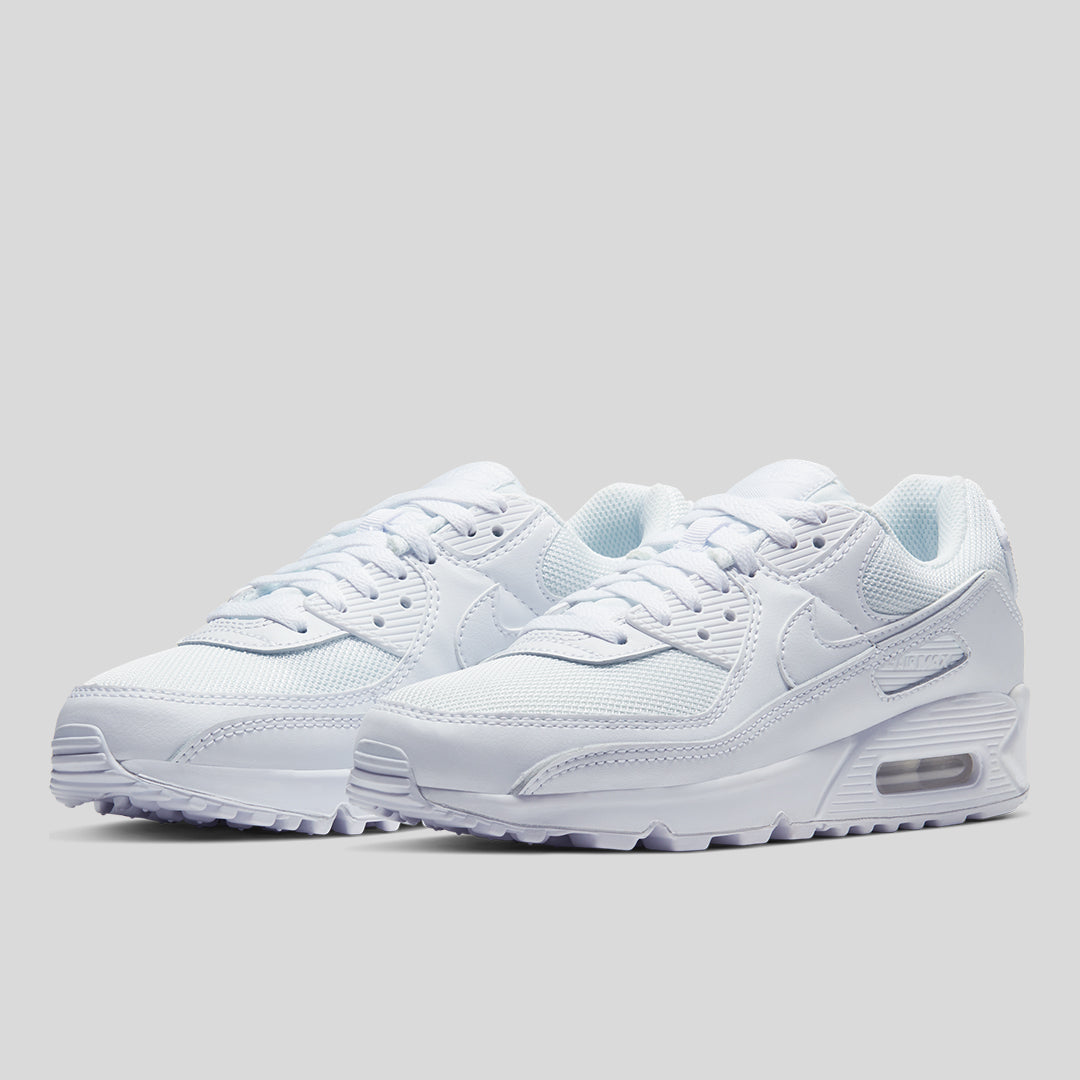 Nike - Women's Air Max 90 White/White | Off The Hook