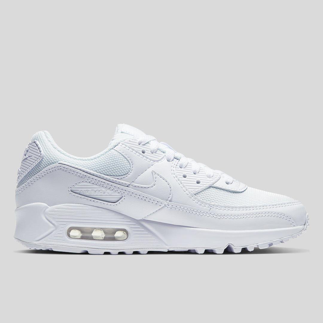Nike - Women's Air Max 90 White/White   Off The Hook