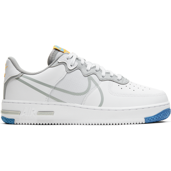 Nike Air Force 1 React White/Smoke Grey/Gold