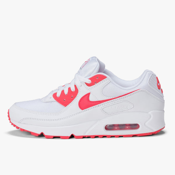 Nike Aix Max 90 - White / Red / Black - Side - Off The Hook Montreal
