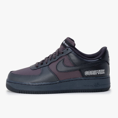 Nike Air Force 1 GTX - Anthracite / Black / Grey - Side - Off The Hook Montreal