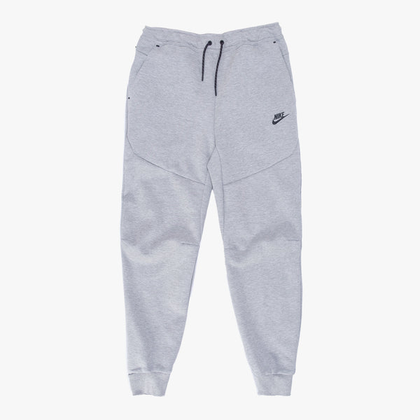 Nike Tech Fleece - Heather Grey / Black - Front - Off The Hook Montreal
