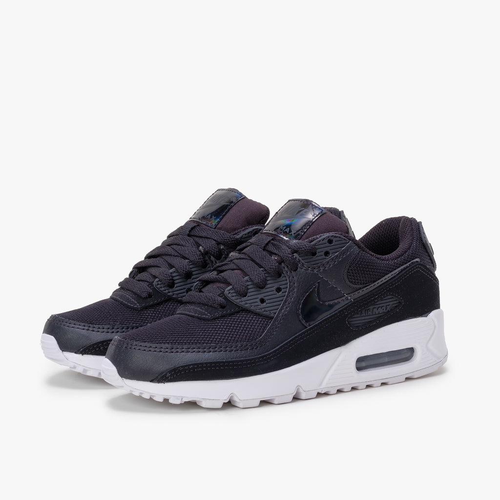 Nike Air Max 90 - Twist Black / White - 45deg -  Off The Hook Montreal