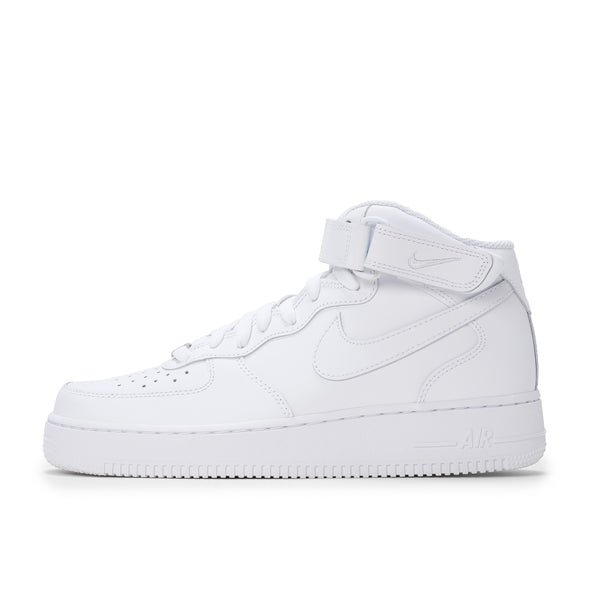 Nike Air Force 1 Mid '07 - White / White - Side - Off The Hook Montreal