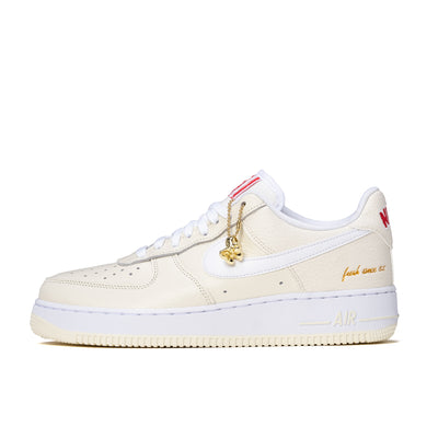 Nike Air Force 1 - Coconut Milk / Red - Side - Off The Hook Montreal