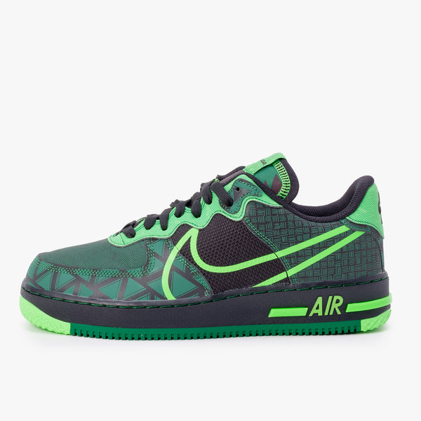 Nike Air Force 1 React - Black / Green - Side - Off The Hook Montreal