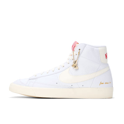 Nike Blazer Mid '77 Vintage - White / Coconut Milk - Side - Off The Hook Montreal
