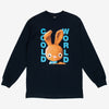 CWFG Dirty Bunny LS T-Shirt - Navy - Front - Off The Hook Montreal