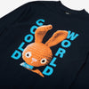 CWFG Dirty Bunny LS T-Shirt - Navy - Details - Off The Hook Montreal