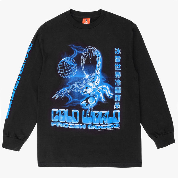CWFG Scorpion L/S - Black - Front - Off The Hook Montreal