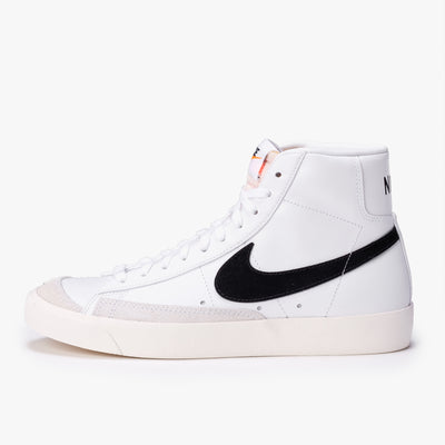 Nike CZ1055-100 Blazer Mid '77 White / Black - side - available at off the hook montreal