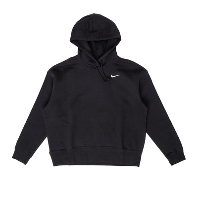 CZ2590 Nike Sportswear Fleece Hoodie - front - available at off the hook montreal #color_black-white
