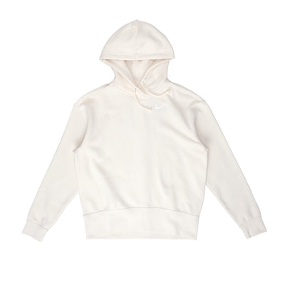 CZ2590 Nike Sportswear Fleece Hoodie - front - available at off the hook montreal #color_coconut-milk