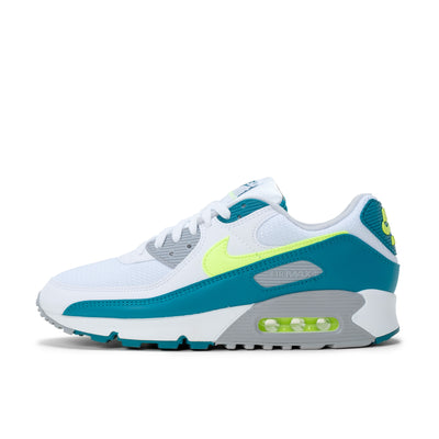 Nike Air Max 3 - White / Hot Lime / Spruce / Grey - Side1 - Off The Hook Montreal