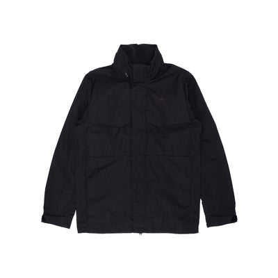 Nike Sportswear Hooded M65 Jacket - Black - Front - Off The Hook Montreal #color_black-black