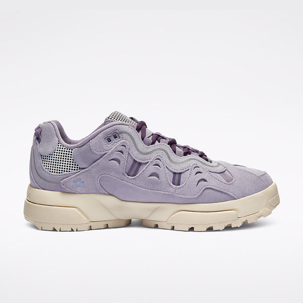 Converse x GOLF le FLEUR* Gianno Suede OX Lavender Gray right available at off the hook montreal