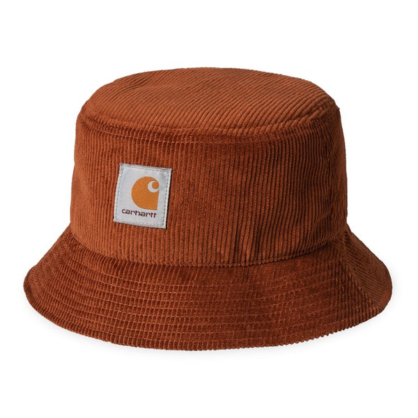 Carhartt WIP I028162 Cord Bucket Hat Brandy front view available at off the hook montreal