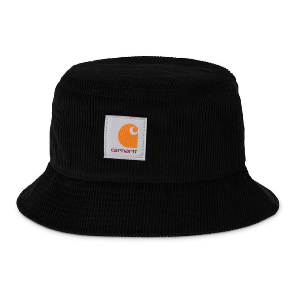 Carhartt WIP I028162 Cord Bucket Hat Black available at off the hook montreal