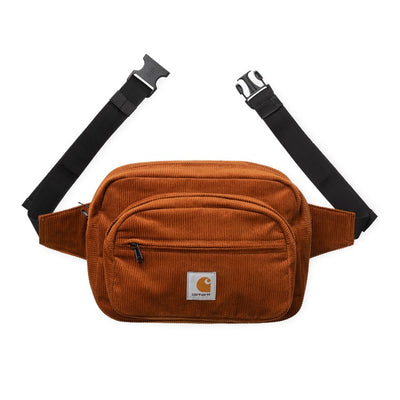 Carhartt WIP Cord Hip Bag Brandy front available at off the hook montreal