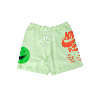 Nike sportswear French Terry Shorts - Lime - Front - Off The Hook Montreal #color_lime