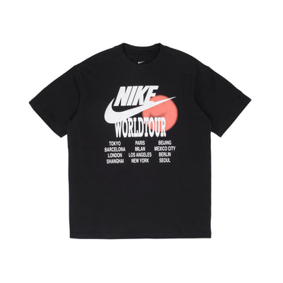 Nike Sportswear S/S T-Shirt - Black - Front - Off The Hook Montreal