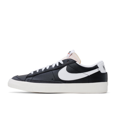 Nike Blazer Low '77 Vintage  - Black / White - Side - Off The Hook Montreal