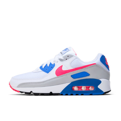 WMNS Air Max 3  - (White/Hot Coral/Blue Crystal/Grey Fog) - Lateral Side View - Off The Hook Montreal