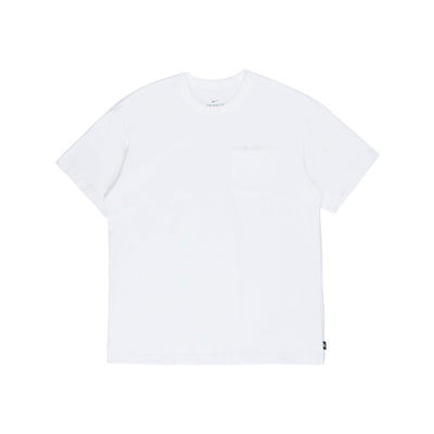 DB3249-100 NSW Essential Short Sleeve T-Shirt - white/white - front - available at off the hook montreal #color_white