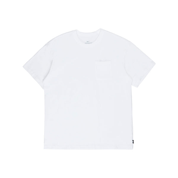 DB3249-100 NSW Essential Short Sleeve T-Shirt - white/white - front - available at off the hook montreal