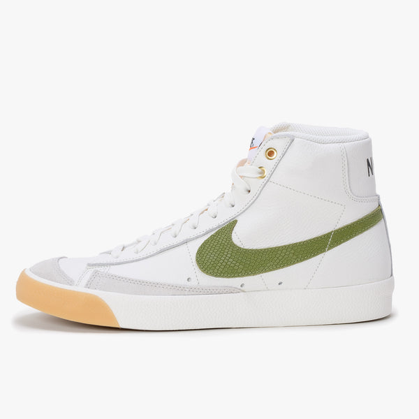Nike DC1706-100 Nike Blazer Mid '77 Vintage Sail / Asparagus - Side - available at off the hook montreal