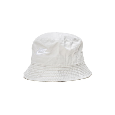 DC3967 Nike Sportswear Bucket Cap - front - available at off the hook montreal #color_light-bone-white