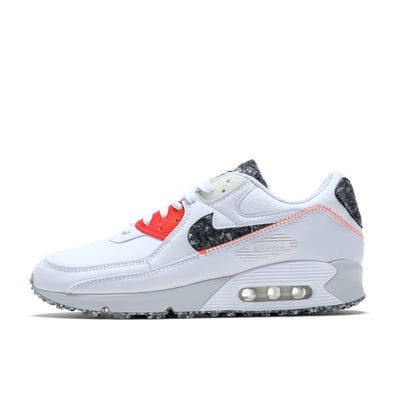 DD0383-100 Nike Air Max 90 White/Photon/Crimson - side - available at off the hook montreal