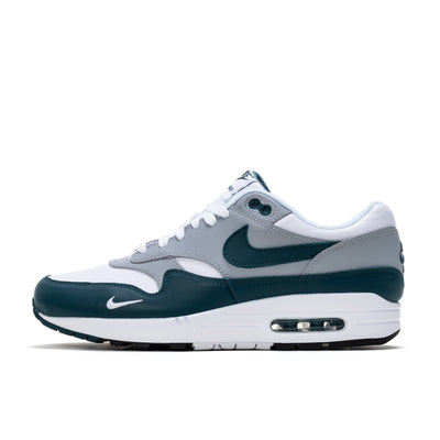 Nike Air Max 1 LV8 - White / Dark Teal Green - Side - Off The Hook Montreal