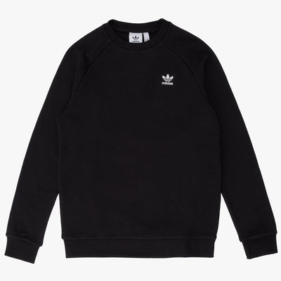 adidas DV1600 Essential Crewneck Black - front - available at off the hook montreal